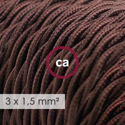 Zavit kabel večjega preseka (3x1,50) - rjav TM13