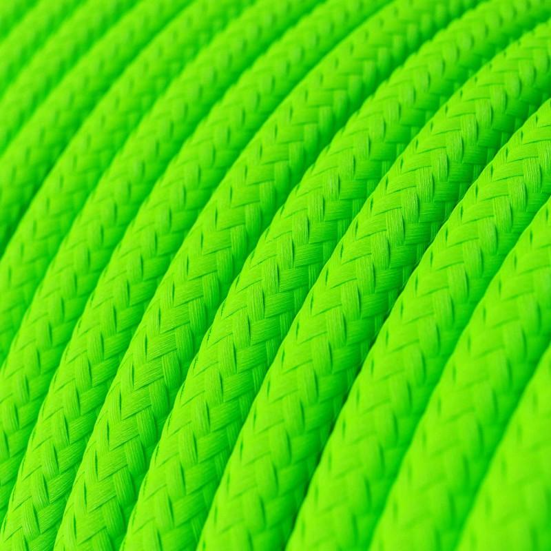 LAN - Eternetni tekstilni kabel RF06 Fluo zelen - Cat 5e z RJ45 vtičem, sestavljen