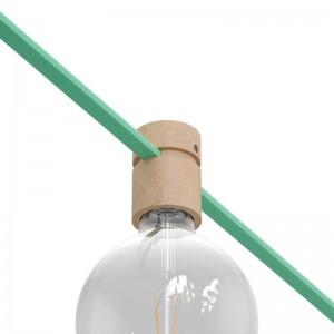 Leseno grlo E27 za verigo luči, Filé sistem