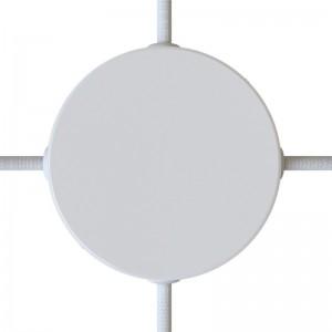 Cilindrična stopna rozeta s 4 stranskimi izhodi - komplet