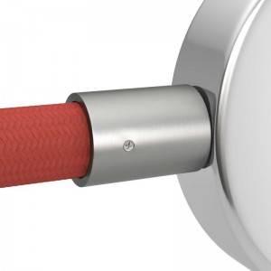 Pocinkani kovinski konektor za Creative-Tube cevi, premera 20 mm - komplet