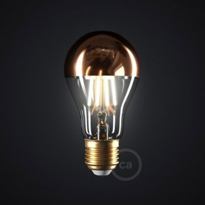 LED žarnica koničasta A60 7W E27 2700K zatemna