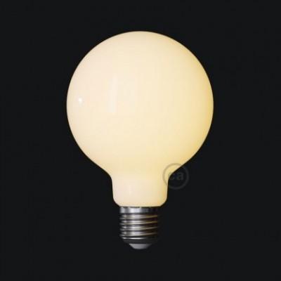 CBL700165 LED Sijalka Globe G95 Bianco Latte 7,5W E27 2700K Dimmerabile