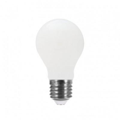 LED žarnica Drop A60 mlečna 8W E27 2700K