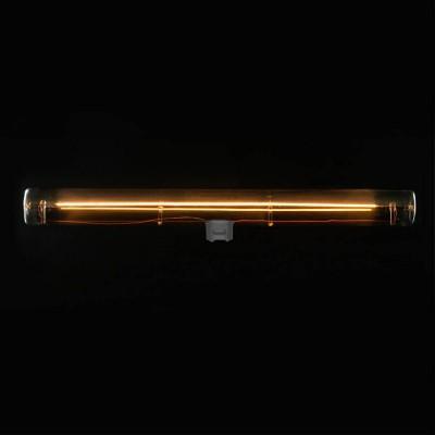 S14d LED cevasta žarnica, srebrno siva - dolžine 300 mm, 8W, 2200K zatemnitvena - za Syntax