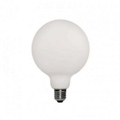 LED porcelanasta žarnica G95 6W E27 Zatemnilna 2700K