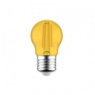 Dekorativna rumena G45 Globetta LED žarnica 1.4W E27