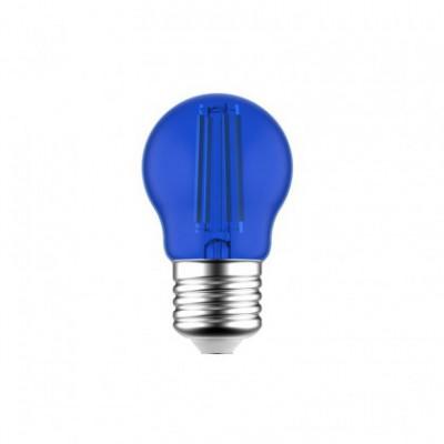Dekorativna modra G45 Globetta LED žarnica 1.4W E27