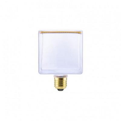 LED Cube Clear Floating Line žarnica, 8W zatemnilna 2200K