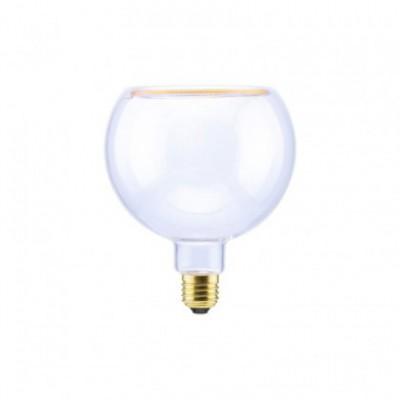 LED Globo G125 Clear Linea Floating žarnica, 8W zatemnilna, 2200K