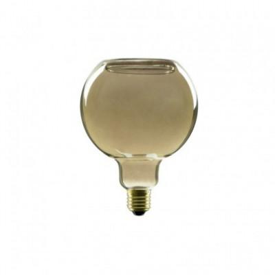LED Globo G125 Smoky Floating Line žarnica, 8W zatemnilna, 2000K