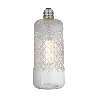 LED Demetra Clear Crystal Line 6W E27 2700K zatemnilna žarnica