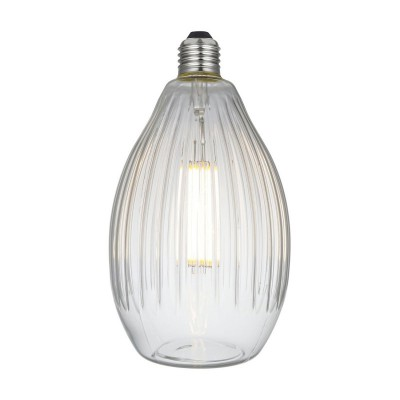 LED Eos Clear Crystal Line 6W E27 2700K zatemnilna žarnica