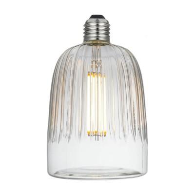 LED Tiche Clear Crystal Line 6W E27 2700K zatemnilna žarnica