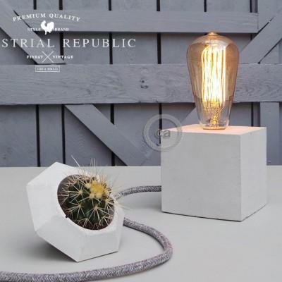 "Marko Lovenjak za Industrial Republic: Betonska luč ""The Cube"""